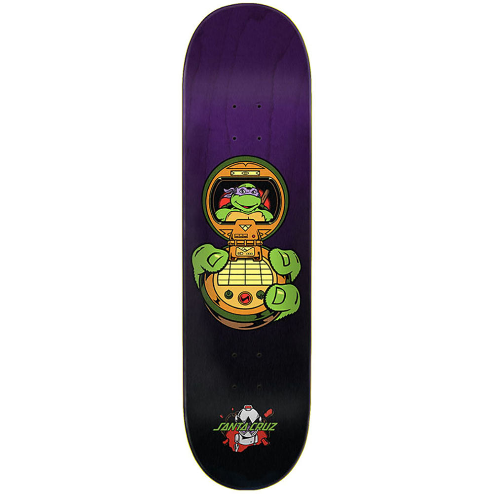 Santa Cruz X Teenage Mutant Ninja Turtles Donatello Skateboard Deck 8.125