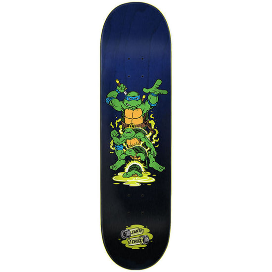Santa Cruz X Teenage Mutant Ninja Turtles Leonardo Skateboard Deck 8.375