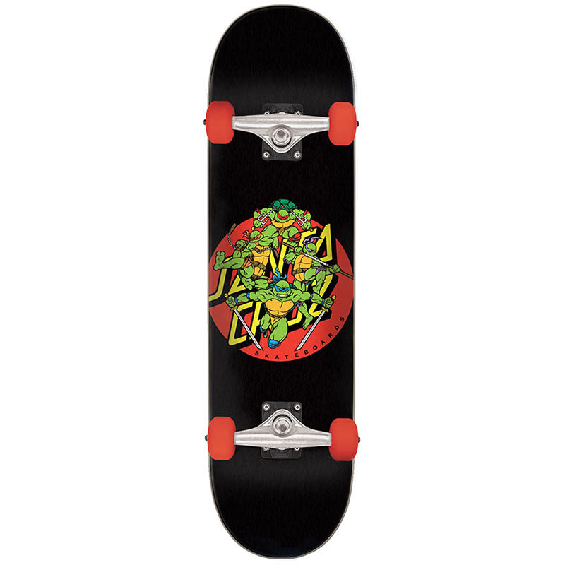 Santa Cruz X Teenage Mutant Ninja Turtles Turtle Power Skateboard Complete 8