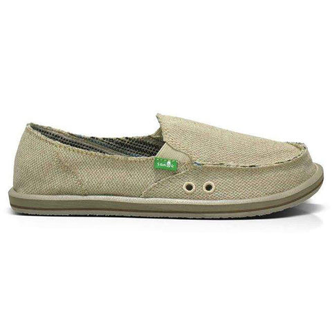 Sanuk Donna Hemp Womens Sidewalk Surfers