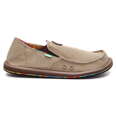 Sanuk Grateful Dead Vagabonded Hemp Sidewalk Surfer