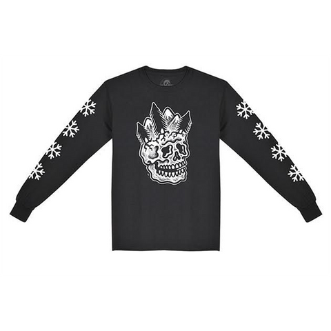 Sketchy Tank Dead Winter Long Sleeve T-Shirt Black