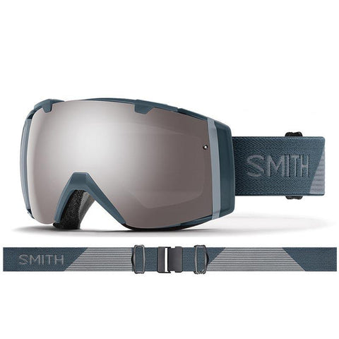 Smith I/O Snow Goggle 2018 Thunder Split with ChromaPop Sun Platinum Mirror Lens pure board shop