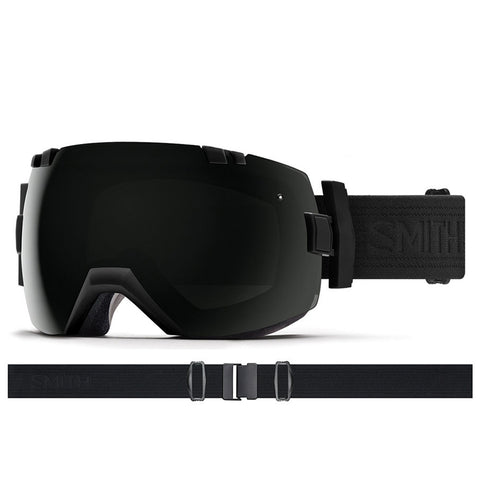Smith I OX Snow Goggle Blackout with ChromaPop Sun Black Lens IL7CPBBO18 PURE BOARD SHOP