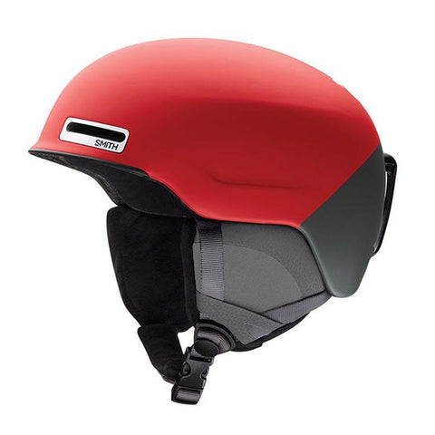 Smith Maze Snow Helmet 2018 Matte Fire Split pure board shop