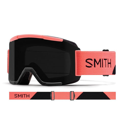 Smith Squad Snow Goggle 2018 Sun Burst with ChromaPop Sun Black Lens pure board shop