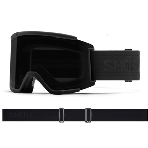 Smith Squad XL Snow Goggle Blackout with ChromaPop Sun Black Lens SQX2CPSBK19 pure board shop
