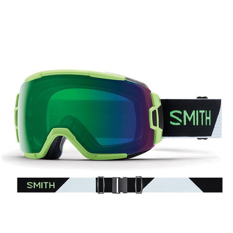 Smith Vice Snow Goggle 2018 Reactor Split with ChromaPop Everyday Green Mirror Lens pure board shop