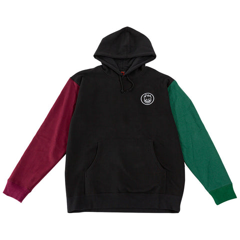 Spitfire Bighead Blocked Pullover Hoody Black Green pure board shop