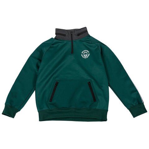 Spitfire LTB Track Jacket Dark Green Reflective Pure Board Shop