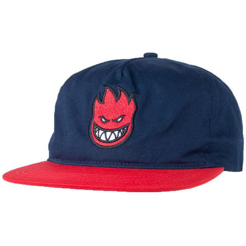 Spitfire Bighead Fill Snapback Navy Red Deluxe Spring 2018 pure board shop