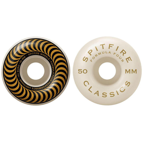 Spitfire Wheels Spitfire F4 101 Classics Skateboard Wheels Pure Board Shop