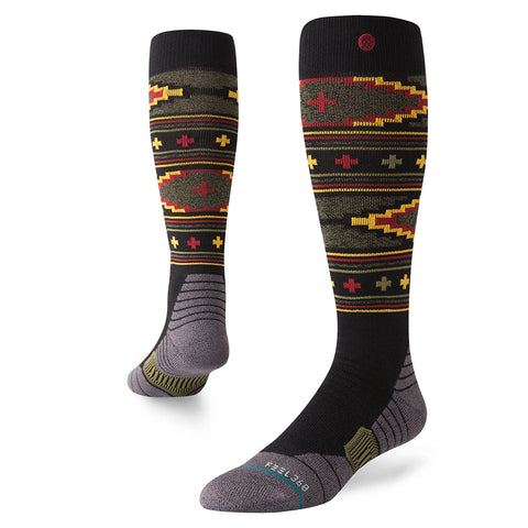 Stance Burnside Snowboard Socks Black Stance Winter 2019 M758C18BUR BLK pure board shop