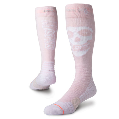 Stance Misfit Womens Snowboard Socks Pink Stance Winter 2019W758C18MSW_PNK pure board shop