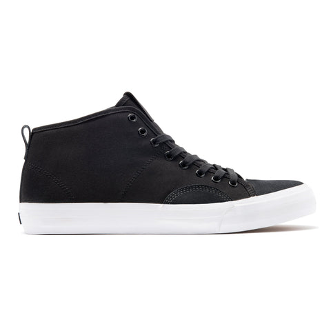 State Footwear Harlem Up Town Skate Shoes Black White FTWST14003 pure board shop