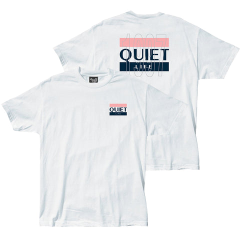 The Quiet Life 97 Flag T Shirt White 20SPD2-2140_1_WHT pure board shop