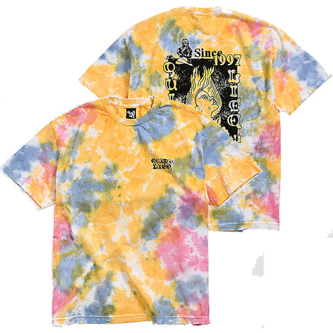 The Quiet Life Lady Luck T Shirt Tie Dye 20SPD2-2128 Pure Board Shop