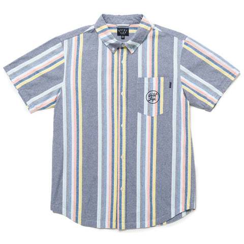 The Quiet Life The Quiet Life Basel Short Sleeve Button Down Pure Board Shop