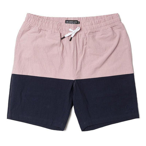 The Quiet Life Boardwalk Shorts Pink/Navy The Quiet Life summer 2018 pure board shop