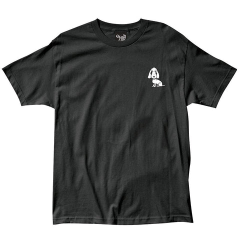 The Quiet Life Boob Dog Premium T-Shirt Black