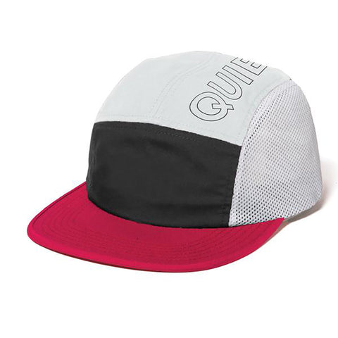 b37b6a9f0a The Quiet Life Canyon 5 Panel Camp Hat Black White Red Quiet Life Summer  2019 pure