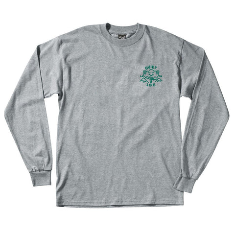 The Quiet Life Cloudy Long Sleeve T-Shirt Grey
