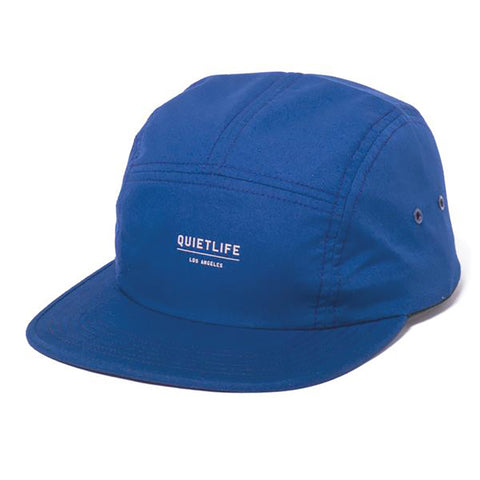 The Quiet Life Crush 5 Panel Hat Blue The Quiet Life Spring 2019 pure board shop