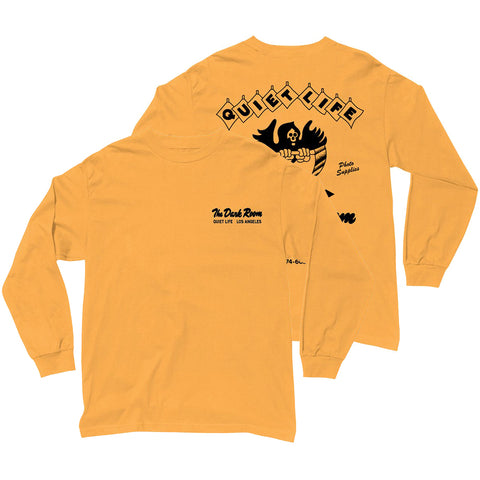 The Quiet Life Dark Room Long Sleeve T-Shirt Gold QLFA19D1 Quiet Life Fall 2019 Pure Board Shop