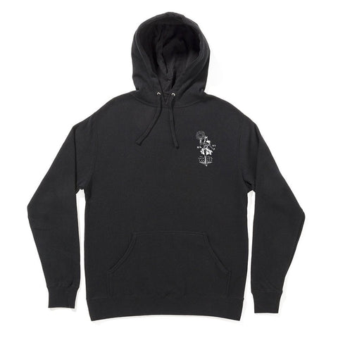 The Quiet Life Lady Liberty Pullover Hoodie Black