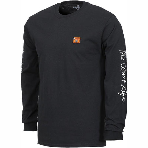 The Quiet Life Shakey Cat Long Sleeve Black pure board shop