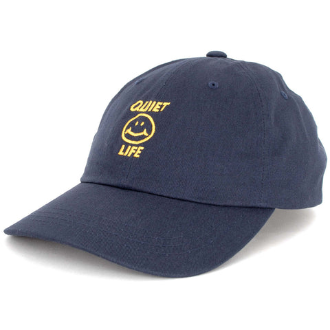 The Quiet Life Smile Dad Hat Navy The Quiet Life Fall 2018 pure board shop