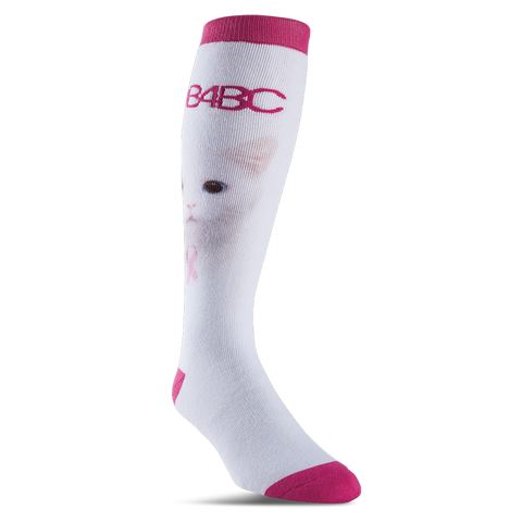 ThirtyTwo B4BC Womens Snowboard Socks White/Pink