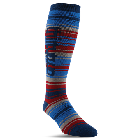 ThirtyTwo Baja Snowboard Socks Blue/Grey