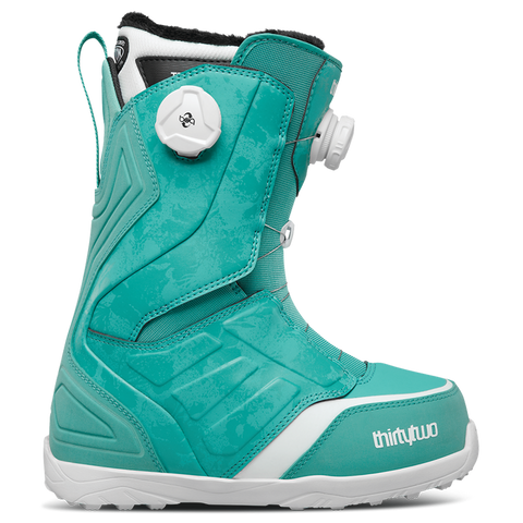 ThirtyTwo Lashed Double Boa Womens Snowboard Boot 2018 Turquoise pure board shop