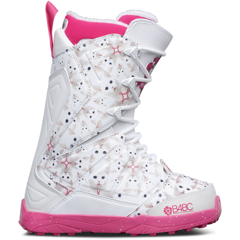 ThirtyTwo Lashed B4BC Womens Snowboard Boot 2017 White Pink - Pure Boardshop
