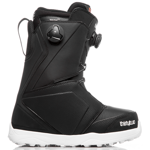 ThirtyTwo Lashed Double Boa Mens Snowboard Boots 2019 Black 8105000315 001 pure board shop