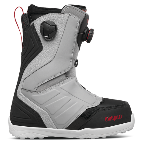 ThirtyTwo Lashed Double Boa Snowboard Boots 2018 Grey/Black/Red pure board shop