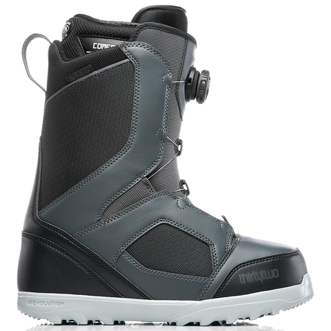 ThirtyTwo STW Boa Mens Snowboard Boots 2019 Dark Grey 8105000324 063 pure board shop