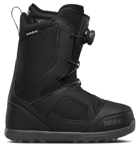 ThirtyTwo STW Boa Snowboard Boot 2018 Black pure board shop