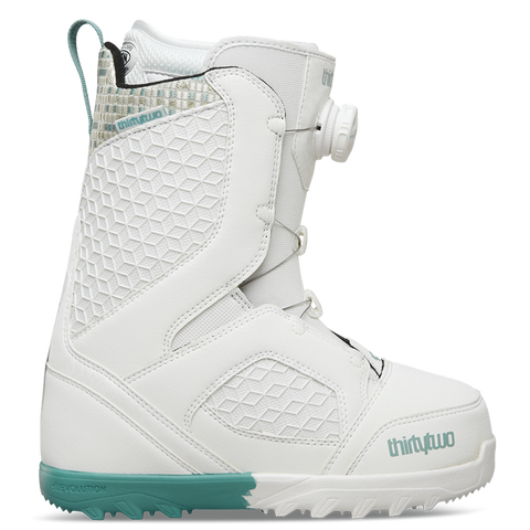 ThirtyTwo STW Boa Womens Snowboard Boot 2018 White/Blue pure board shop