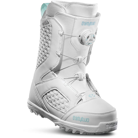 ThirtyTwo STW Boa Womens Snowboard Boot White 8205000188-100 pure board shop