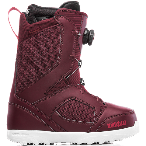 ThirtyTwo STW Boa Womens Snowboard Boots 2019 Burgundy 8205000174 602 pure board shop