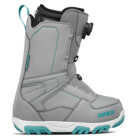 ThirtyTwo Shifty Boa Womens Snowboard Boot 2018 Grey Pure board shop