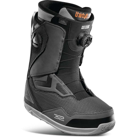Thirtytwo TM 2 Double Boa Scott Stevens Snowboard Boot Black Grey 8105000406-030 Pure Board Shop