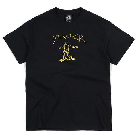 Thrasher Gonz T-Shirt Black Pure Board Shop