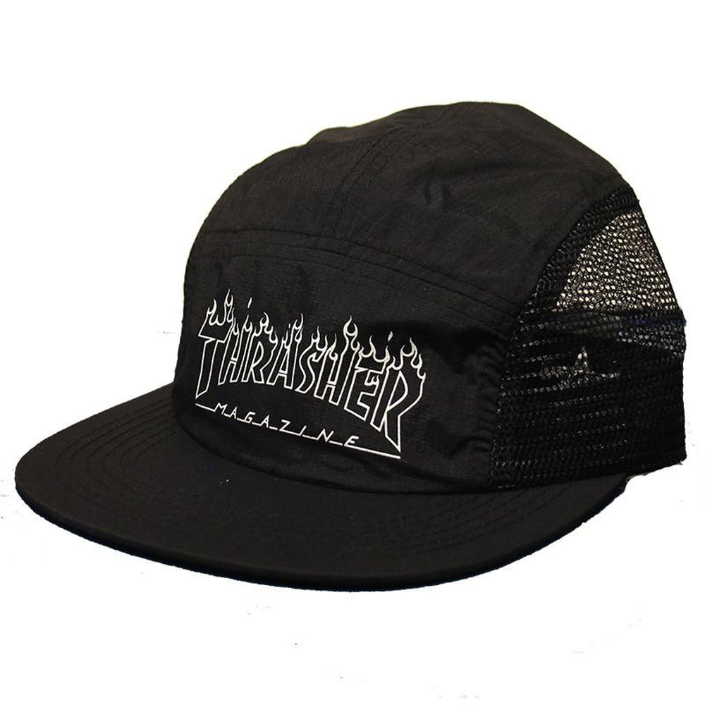 Thrasher Flame Outline 5 Panel Hat – Pure Board Shop aadd02be035