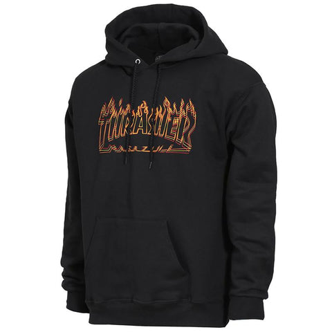 Thrasher Richter Pullover Hoodie Black pure board shop