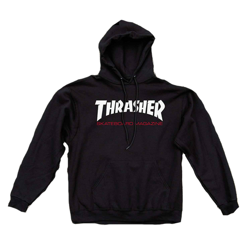 Thrasher Skate Mag Two Tone Pullover Hoodie Black