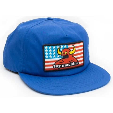 Toy Machine American Monster Unstructured Hat Blue  Tum Yeto