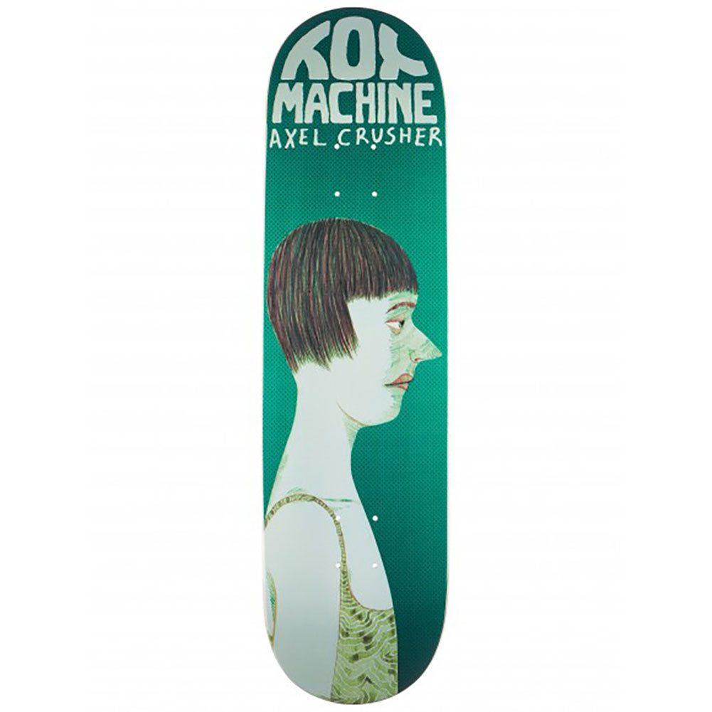 Toy Machine Axel Cruysberghs Face Skateboard Deck 8.25